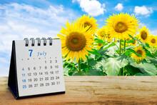 7月の思い出とカレンダー