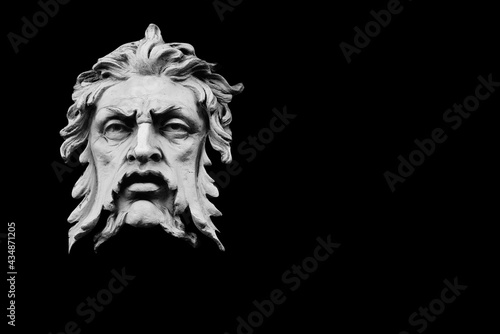 Fotografie, Obraz In antique Greek mithology god Aiolos(Aeolus) lord ofof the winds