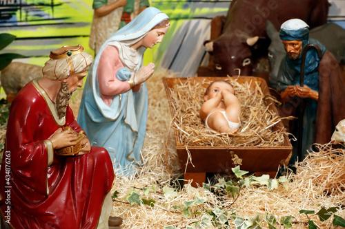 Nativity scene Fototapet