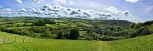 Exmoor Landscape , Somerset, UK