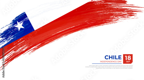 Canvastavla Flag of Chile country