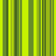 Striped Pattern With Stylish And Bright Colors. Green Stripes. Seamless Background For Design In A Vertical Strip