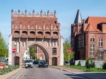 Treptower Tor Neustrelitz In Mecklenburg-Vorpommern