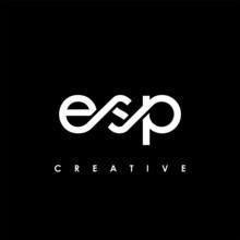 ESP Letter Initial Logo Design Template Vector Illustration