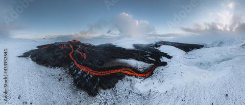 Fotografiet Iceland Volcanic eruption 2021