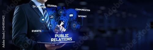Fotografia PR Public relations concept