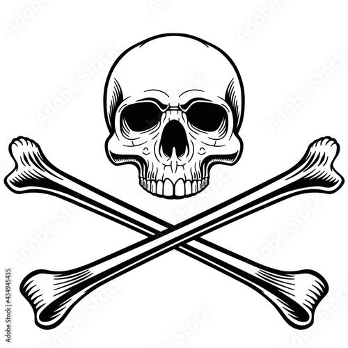 Foto Skull and crossbones 14