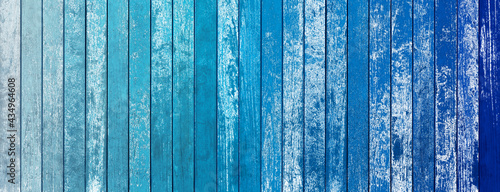 Fotografie, Obraz Fond bois bleu vintage