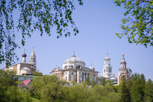 Ancient Monastery Of Saints Boris And Gleb In The Ancient Provincial Russian Town Of Torzhok
