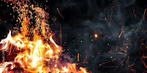 Fotografia Spark Of Fire Stock Image