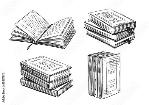 Fotografia Books sketch