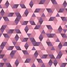 Geometry Pattern In Lavender Tones