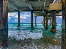 Dania Beach Pier In The Ocean