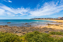 Waterfront In Burnie, Tasmania, Australia.  Burnie Is A Port City In The North-west Of Tasmania Founded In 1827.  Travel And Landscapes.