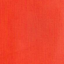 Bright Orange Woven Cotton Fabric Texture