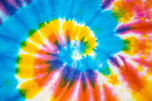 Tie Dye Abstract Background. Seamless Pattern Colorful Textured.