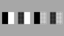 Abstract Background With Black And White Boxes With Black And White Dots On Them