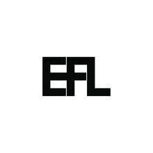 Efl Letter Original Monogram Logo Design