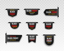 Black Friday Market Sale Tags