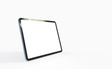 Tablet 3d Computer With Blank Screen