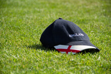 A Baseball Cap In Support Of England Cricket