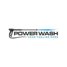 Pressure Wash Logo Template