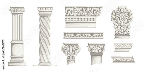 Obraz na płótnie Greek columns