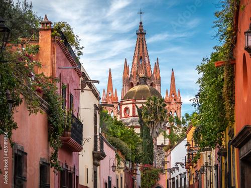 San Miguel de Allende in Guanajuato, Mexico. Fotobehang