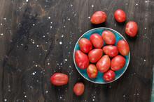 Fresh Organic Raw Red Potatoes.