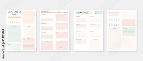 Fotografering September 2021 - Planner