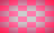 Pink Rectangles Arranged Alternately, Vintage Style.
