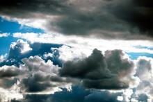 Clouds In The Sky, Nacka, Sverige, Sweden, Stockholm