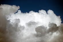 Blue Sky With Clouds, Nacka, Sverige, Sweden, Stockholm
