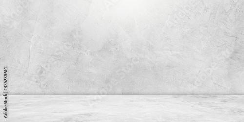 Tableau sur Toile concrete wall and concrete floor studio