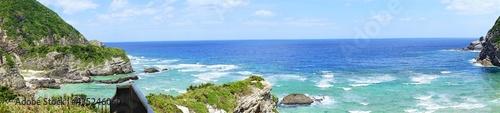 Fotografia Chishi observation deck in Zamami island, Okinawa, Japan - 日本 沖縄 座間味島 チシ展望台 パノラマ