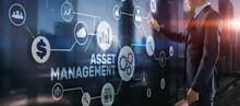 Asset Management. Financial Real Estate Management Concept