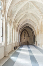 Corridor Of A An Antic Building In The City Of Burgos, Castile And Leon, Spain