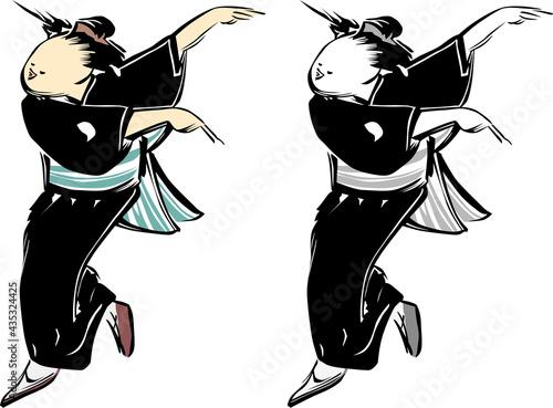 Fotografija 浮世絵 踊り子 その4
