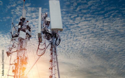 Canvastavla Telecommunication tower