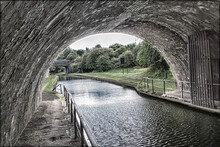 View From A Canal Tunnel
