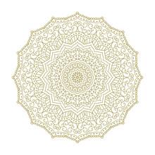 Mandala. Circular Figure Representing The Universe In Hindu And Buddhist