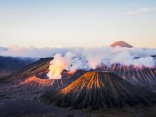 Mount. Bromo Beautiful Landscape In Indonesia