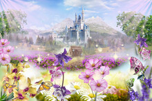 Spring In The Castle