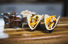 Fajita Tacos Kitchen Close