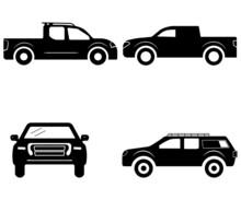Nissan Frontier Vector, Nissan Frontier Sign Symbol Icon Vector , Nissan Frontier Silhouette.