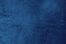 Blue Wall Texture,abstract Background, Beautiful Abstract Grunge Navy Blue Dark Stucco Wall Background,Texture Banner With Space For Text,dark Blue Background Colour