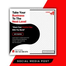 Success Business Social Media Post