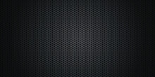 Black Metal Background Texture. Premium Vector