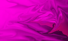Wave Pattern Pink Background, Abstract Liquid Texture Style For Graphic Work.
