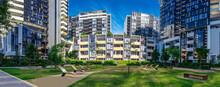 Panorama Apartment Building In Inner Sydney Suburb NSW Australia